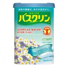 日本进口 巴斯克林(BATHCLIN) 温热香浴盐(药草香型) 690g/瓶