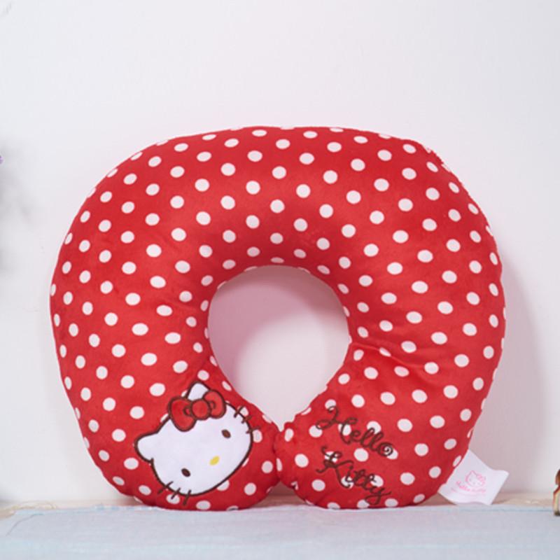hello kitty佳人系列u型枕