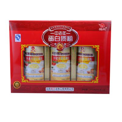 鹤王中老年蛋白质粉礼盒810g/盒怎么样 好不好