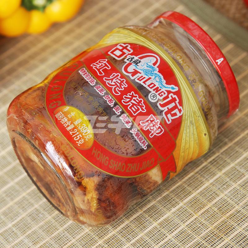 古龙红烧猪脚 390g/瓶