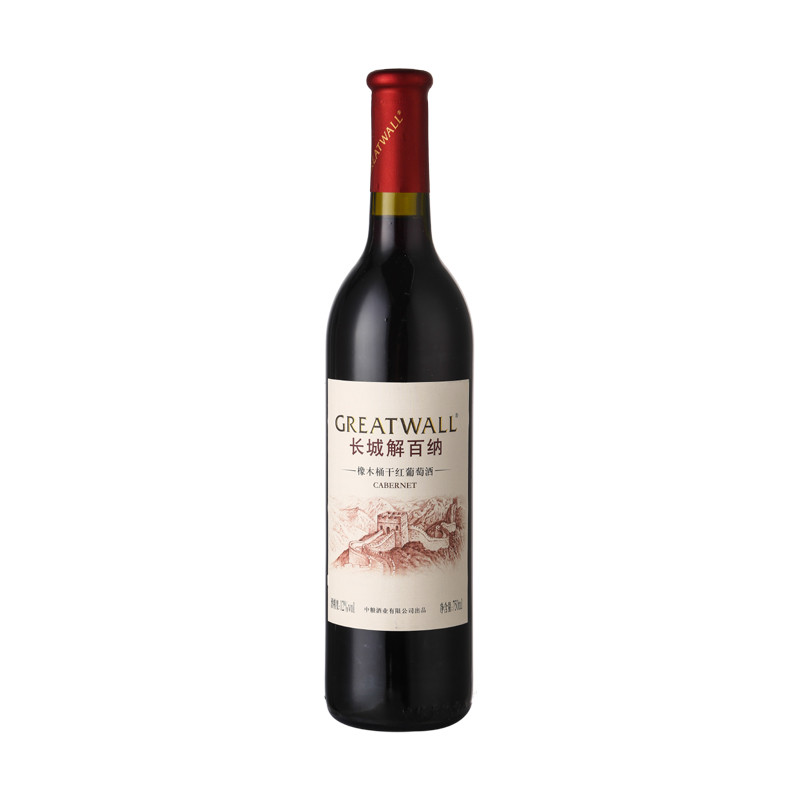 长城解百纳橡木桶干红葡萄酒750ml/瓶【价格