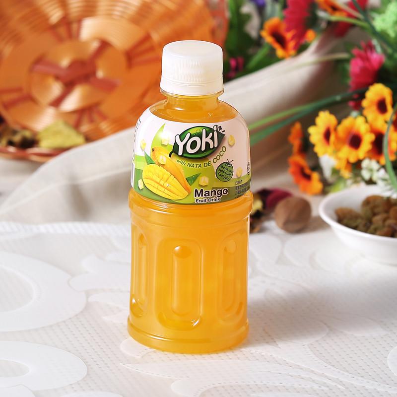 yoki洋一芒果果汁饮料320ml/瓶