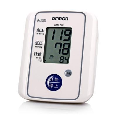 欧姆龙 电子血压计 hem-7113怎么样 好不好