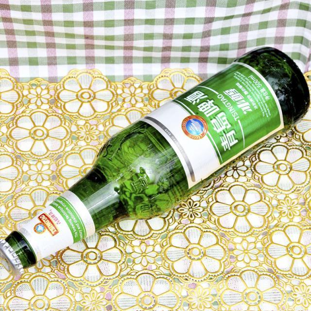 8度青岛冰醇啤酒500ml/瓶