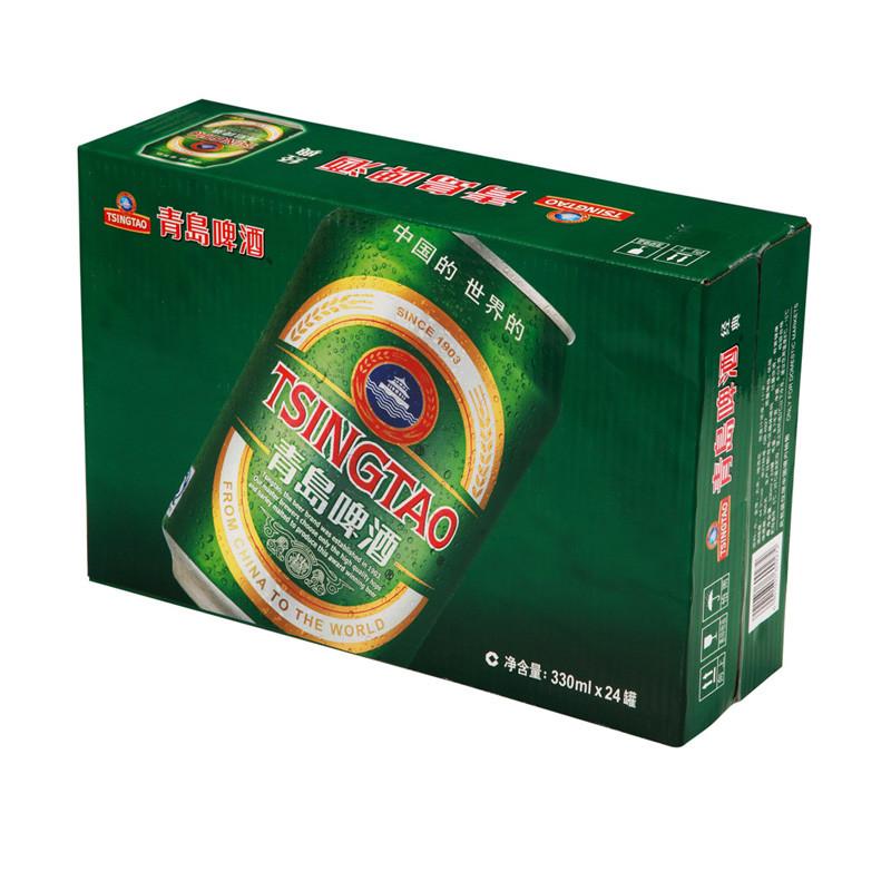 青岛 啤酒 330ml*24罐/箱