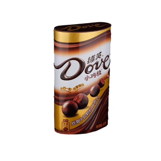 德芙 小巧粒丝滑牛奶颗粒巧克力 42克/罐