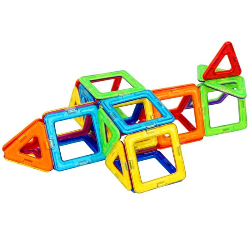 优喜 磁力片 儿童积木益智diy玩具套装礼物拼装拼插百变提拉魔磁智慧