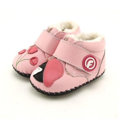 Freycoo\/芙瑞可 冬季宝宝鞋新款学步鞋软底加