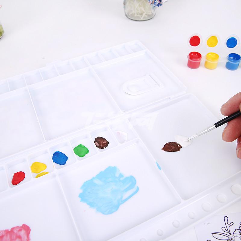 晨光文具 数字画/儿童绘画颜料/填色套装 动物/交通系列apl97622