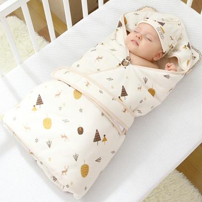 贝谷贝谷 婴儿抱被纯棉新生儿包被大号秋冬款怎么样 好不好