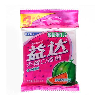 益达 木糖醇无糖口香糖清爽西瓜味3条装 40.5g 袋怎么样 好不好