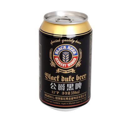 德国 尼尔森公爵黑啤酒330ml*6罐/组怎么样 好不好