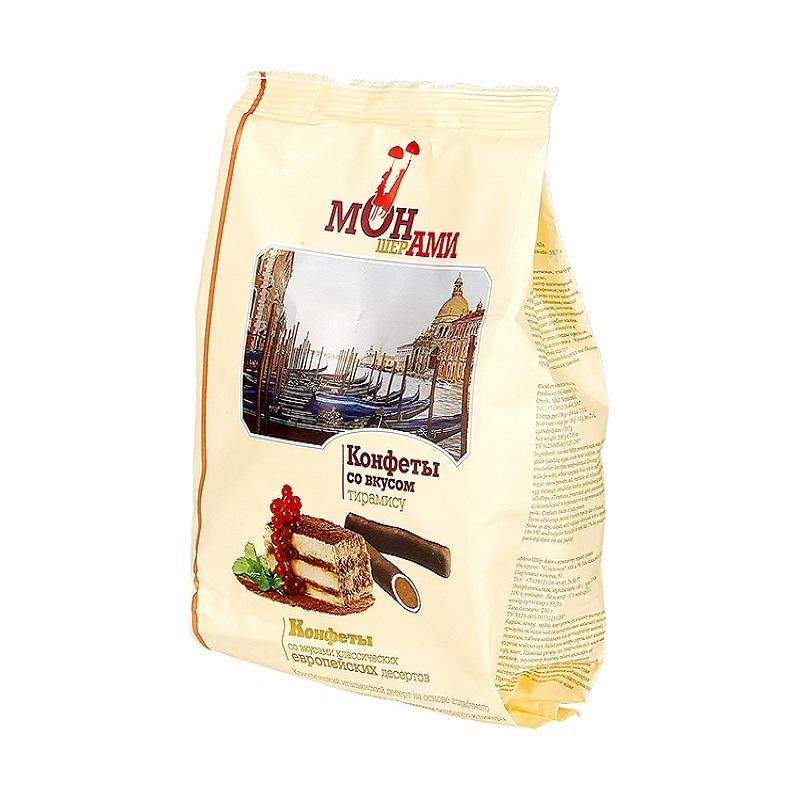 俄罗斯进口 提拉米苏巧克力味糖 200g/袋