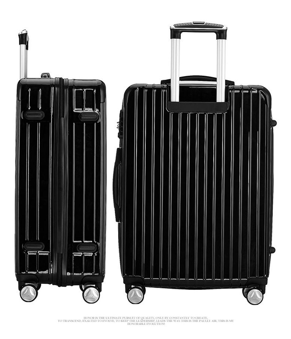 爱莱仕ailaishi 拉杆箱旅行箱万向轮pc abs男女登机箱多功能行李箱 pc