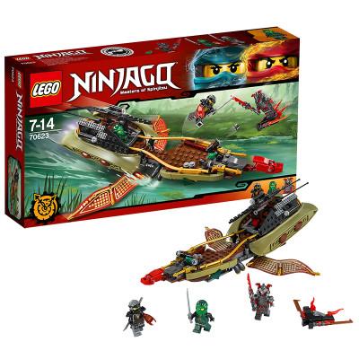 乐高幻影忍者系列70623忍者命运飞影号lego积木玩具怎么样 好不好
