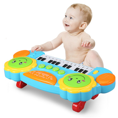 活石 儿童电子琴多功能拍拍鼓玩具怎么样 好不好