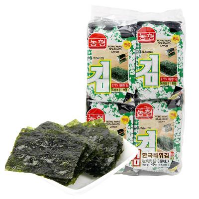 农亨岩烧海苔(原味)40g/袋 怎么样 好不好