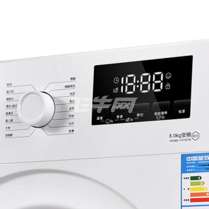 tcl洗衣机xqg80-f12102tb芭蕾白