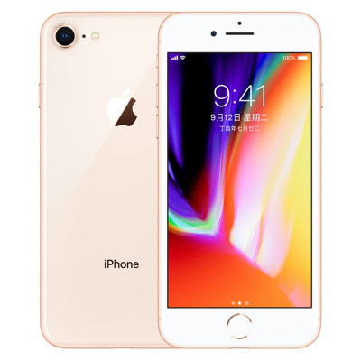 Apple iPhone 8 256GB 金色 移动联通电信4G手