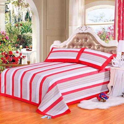 手工粗布床单图片欣赏