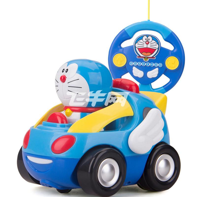 遥控赛车 q版 正版哆啦a梦 音乐益智带炫彩灯光和炫酷音乐 造型可爱