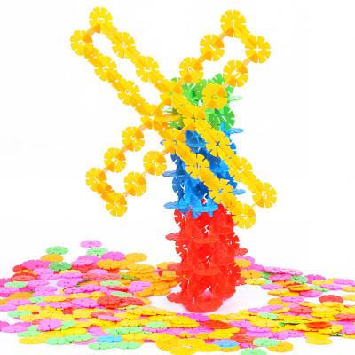 智恩堡 儿童智力早教益智玩具 雪花片积木拼图玩具 300片怎么样 好不好