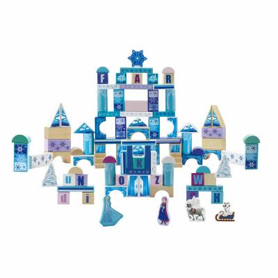 迪士尼 冰雪奇缘城堡积木 100粒怎么样 好不好
