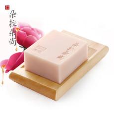 朵拉朵尚玫瑰保湿植物皂115g精油洁面皂?补水玫瑰精油?洁面皂洗脸皂香皂手工肥皂香皂