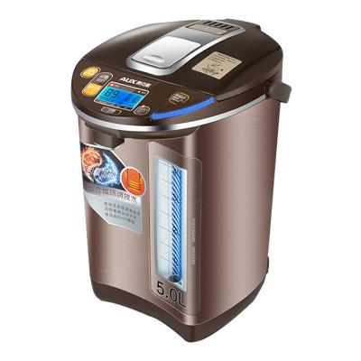 奥克斯(aux)aux-8066电热水瓶保温家用5l烧水壶304不锈钢电热水壶怎么