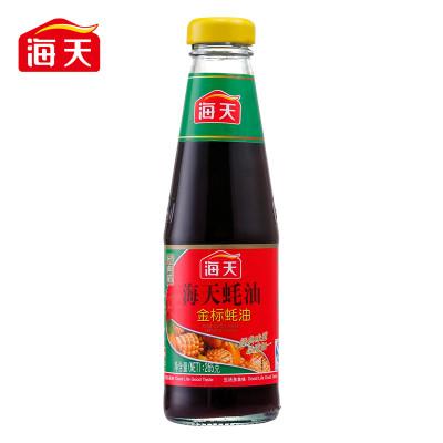 【火锅】调料金标蚝油265g调味品海天蚝油蛤蜊油广告图片