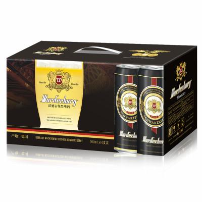 德国进口 沃德古堡 黑啤酒礼盒 500ml*10罐/箱怎么样