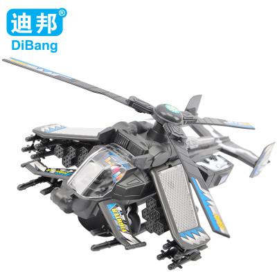 迪邦 电动玩具模型飞机 合金战斗飞机 阿凡达直升机 灯光拉线超音速战
