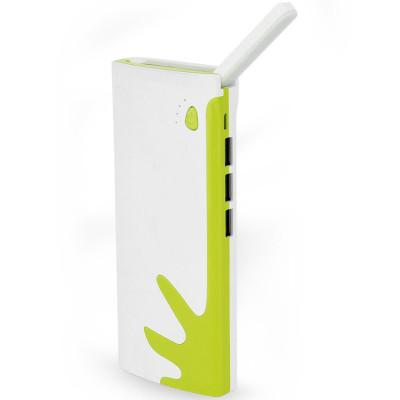 泽美声 台灯3usb充电宝手机移动电源通用随身充 大容量 10000毫安