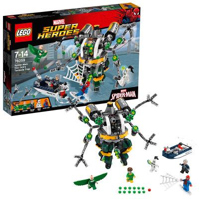 乐高lego积木超级英雄系列蜘蛛侠钢铁侠拼装儿童积木玩具怎么样 好不