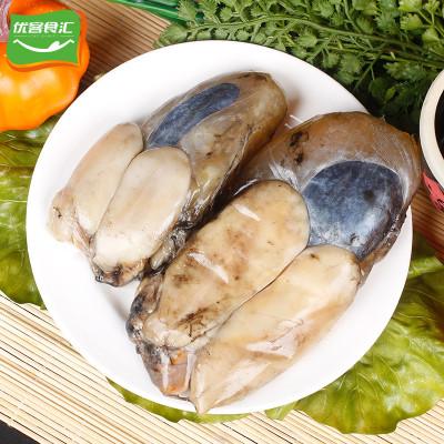 海洋谷 东海野生墨鱼蛋500g宁波海鲜特产个大乌贼蛋目